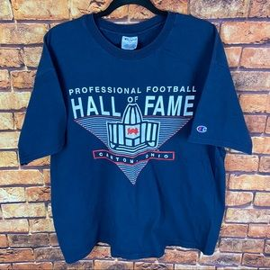Vintage champion nfl football hall of game t shirt